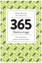 365 skaičių knyga. Vien skaičiai, jokios matematikos (su defektais)