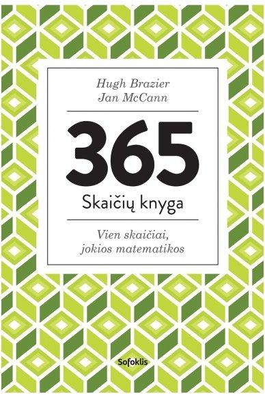 365 skaičių knyga. Vien skaičiai, jokios matematikos